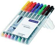Перманентни тънкописци - Lumocolor 318 F - Комплекти от 6 и 8 цвята