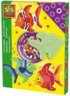 Мозайка с мъниста - Рибка - Комплект от 1200 броя - играчка