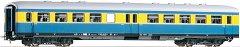 Пътнически вагон Leipzig Bghue - Втора класа - ЖП модел -