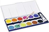 Акварелни боички - Noris Club 888 - Комплект от 12 цвята с четка
