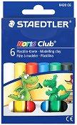 Пластилин - Noris Club 8420 - Комплекти от 6 и 10 цвята