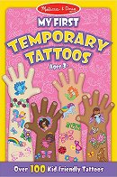 Блокче с татуировки за момичета - Розово - продукт
