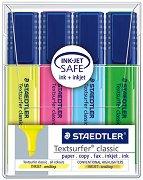 Текст маркери - Textsurfer classic 364 - Комплект от 4 цвята