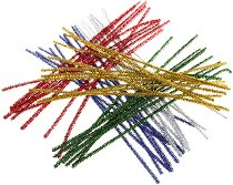 Плюшени шнурчета - Комплект от 50 броя