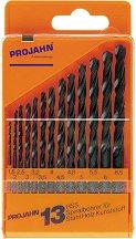 Свредла за метал - HSS - Комплект от 13 броя -