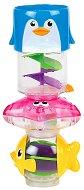 Морски обитатели - Комплект от 3 бебешки играчки за баня - продукт