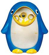 Пингвин, правещ сапунени мехурчета - играчка