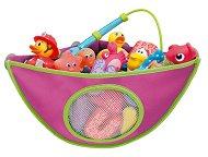 Кошничка за съхранение на играчки в баня -