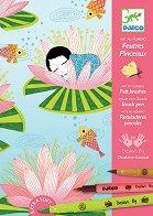 Оцветявай с флумастери - Нимфи - Творчески комплект за рисуване - творчески комплект
