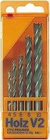 Свредла за дърво - Holz V2-HSS - Комплект от 5 броя -