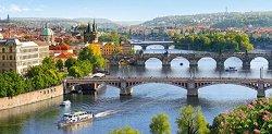 Мостовете над Вълтава в Прага - пъзел