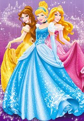 Ученическа тетрадка - Принцесите на Дисни - Формат B5 - пъзел