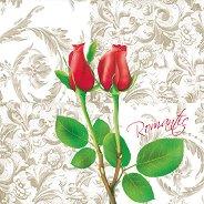 Салфетки за декупаж - Романтика - Пакет от 20 броя