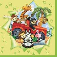 Салфетки - Животни - Пакет от 20 броя