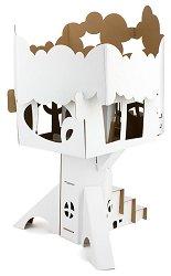 """Къща на дървото - Картонен модел от серията """"Level 3"""" -"""