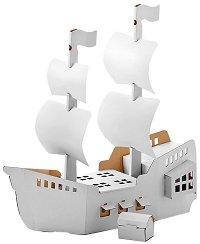 """Пиратски кораб - Картонен модел от серията """"Level 3"""" -"""