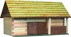 Плевня - Сглобяем модел от дърво - макет