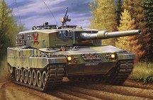Танк - Leopard 2 A4 - Сглобяем модел -