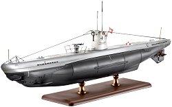 Германска подводница - Тип IIB - Сглобяем модел -