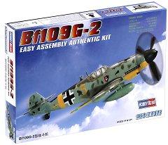 Военен самолет - Messerschmitt Bf109 G-2 - Сглобяем авиомодел - макет