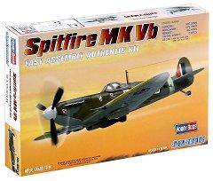 Изтребител - Spitfire Mk Vb - Сглобяем авиомодел -