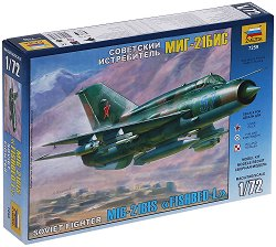 Съветски изтребител - MIG-21 BIS - Сглобяем авиомодел - макет