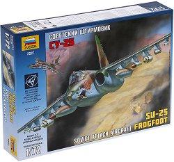 Съветски штурмовик - SU-25 - Сглобяем авиомодел - макет