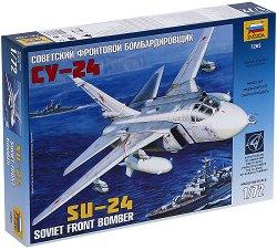 Съветски фронтови бомбардировач - СУ-24 - Сглобяем авиомодел - макет