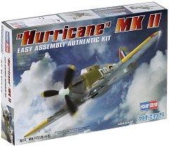 Военен самолет - Hurricane MK II - Сглобяем авиомодел - макет