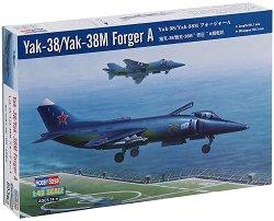 Изтребител - Yak-38/Yak-38M Forger A - Сглобяем авиомодел - макет