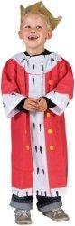 Парти костюм - Крал - Комплект с корона -