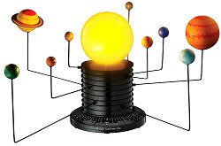 Автоматизиран модел на слънчевата система - играчка