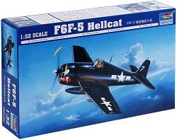 """Американски изтребител - Grumman F6F-5 """"Hellcat"""" - Сглобяем авиомодел -"""