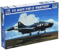 "Американски изтребител - F9F-3 ""Panther"" - Сглобяем авиомодел -"