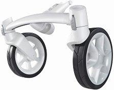 """Допълнителен модул с предни колела - Аксесоар за детска количка """"Moodd"""" и """"Moodd 3"""" -"""