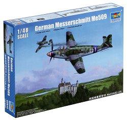 Изтребител - Messerschmitt Me509 - Сглобяем авиомодел -