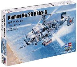 Военен хеликоптер - Kamov Ka-29 Helix-B - Сглобяем авиомодел -