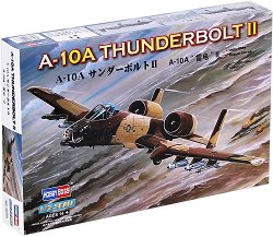 Изтребител - A-10A Thunderbolt II - Сглобяем авиомодел - макет
