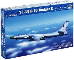 Съветски бомбардировач - TU-16K-10 Badger C - Сглобяем авиомодел -