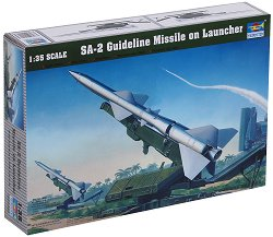 Военна ракетна установка - SA-2 - Сглобяем модел -