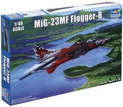 """Съветски изтребител - MiG-23MF """"Flogger-B"""" - Сглобяем модел -"""