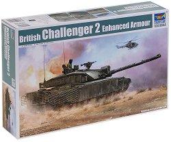 Британски танк - Challenger 2 - Сглобяем модел - макет