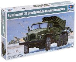 Реактивна система за залпов огън - BM-21 Grad - Сглобяем модел -