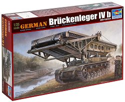 Немски танк мостопоставач - Bruckenleger IV b - Сглобяем модел -