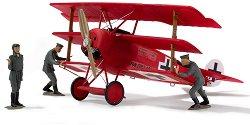 """Военен самолет - Fokker Dr.I """"Richthofen"""" - Сглобяем авиомодел - макет"""