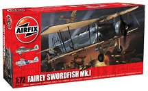 Самолет - торпедоносец - Fairey Swordfish Mk.1 - Сглобяем авиомодел -