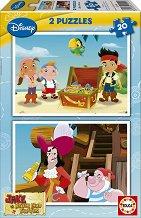 Джейк и пиратите от Невърленд - Два пъзела -