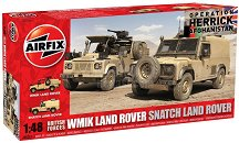 Военни джипове - WMIK Land Rover и Snatch Land Rover - Два сглобяем модел -