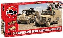 Военни джипове - WMIK Land Rover и Snatch Land Rover -