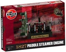 Парен двигател - 1827 Maudslay's Paddle Steamer Engine -